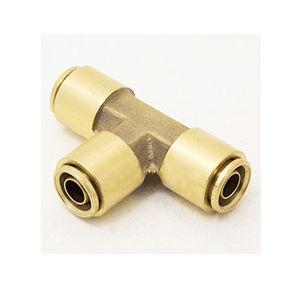 raccordo push-to-lock / a T / pneumatico / in ottone