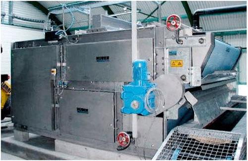 filtro-pressa a nastro / ad alta pressione / per trattamento di fango