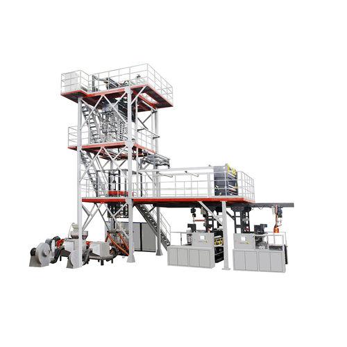 Linea di coestrusione film soffiato / multistrato / per film barriera  M2B-1700Q  Jinming Machinery (Guangdong) Co., Ltd.