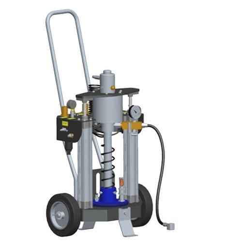 pompa a grasso / pneumatica / a innesco standard / mobile