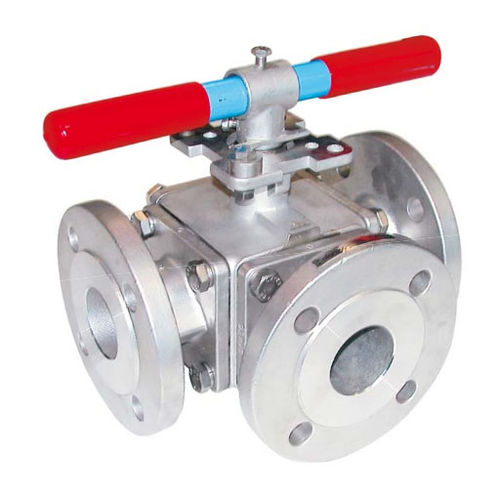 valvola a sfera / manuale / idraulica / di distribuzione