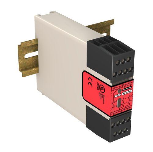 Relè di sicurezza / per barriera fotoelettrica / su guida DIN ES series  BANNER ENGINEERING CORP.