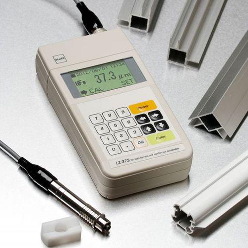 Misuratore di spessore di rivestimenti ferrosi / digitale / portatile LE373 Kett
