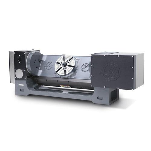 tavola rotante azionata a motore / inclinabile / per fresatura / CNC