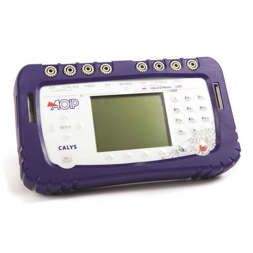 calibratore di temperatura / di pressione / multifunzione / di resistenza