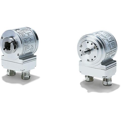 encoder rotativo assoluto / magnetico / ottico / ad albero pieno