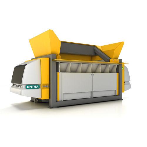 trituratore laceratore per rifiuti primario - UNTHA shredding technology