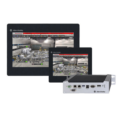computer ad uso industriale / mobile / Intel® Atom E3845 / touch screen