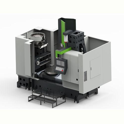 centro di tornitura-fresatura CNC / verticale
