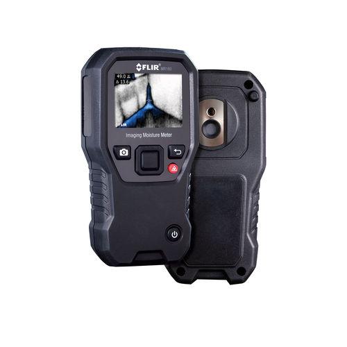 misuratore di umidità per materiali solidi / per acquisizione di immagini termiche / con display digitale / palmare