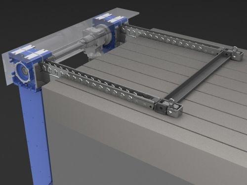 sistema di trasferimento per pressa / di posizionamento attrezzi