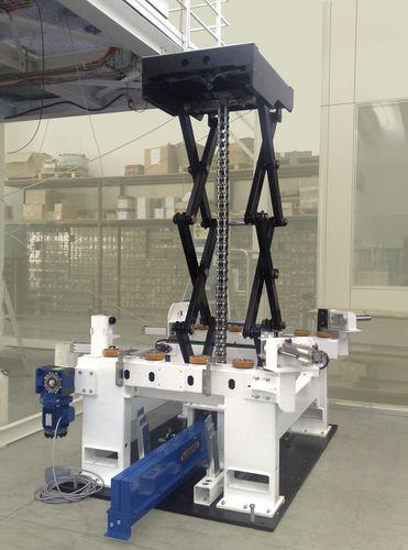Tavola elevatrice a forbici / elettrica / ad alte prestazioni SERAPID