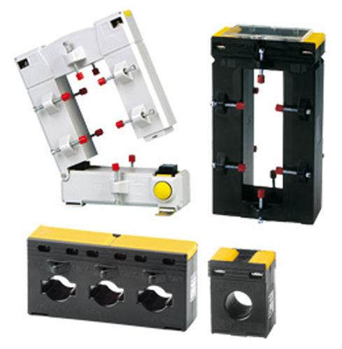 trasformatore di corrente / di misura / in resina / su guida DIN