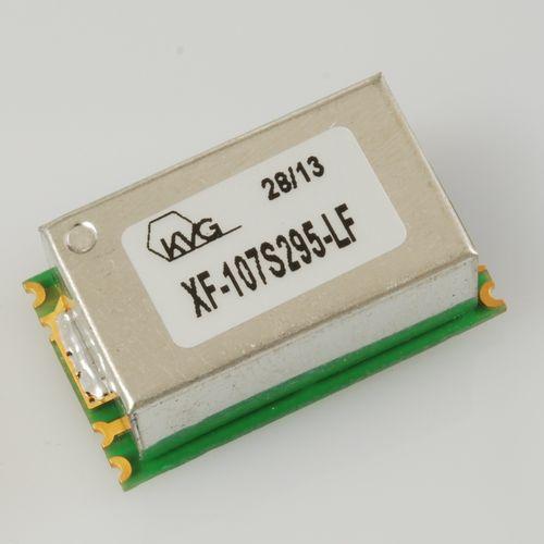 filtro elettronico passa-banda / passivo / al quarzo / 4 poli
