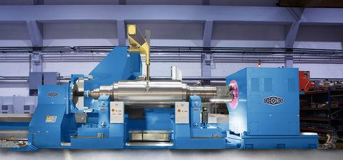 rettificatrice cilindrica esterna / per lamiera metallica / CNC / di grandi dimensioni