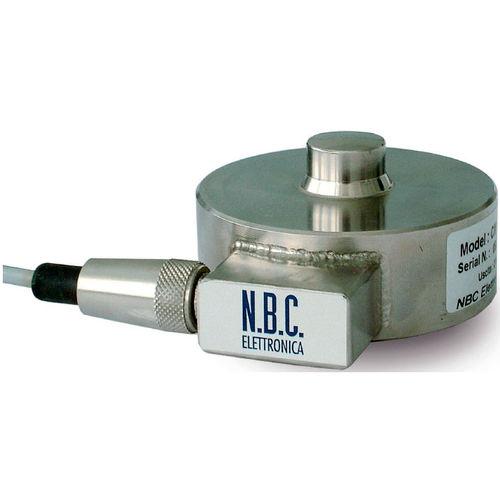 cella di carico a compressione / a bottone / in acciaio inossidabile / antideflagrante