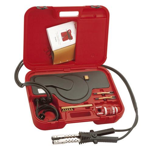 macchina di brasatura elettrica / per elementi riscaldanti / semiautomatica / portatile