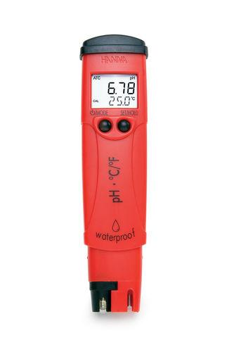 Tester di pH/potenziale di ossidoriduzione / digitale / portatile / a tenuta stagna HI98127 Hanna Instruments