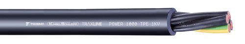 cavo elettrico di alimentazione / resistente all'abrasione / resistente agli UV / isolato