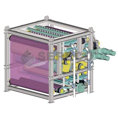 Filtro-pressa a nastro / automatica / per trattamento di fango / ad alta pressione NPF_MP SERECO