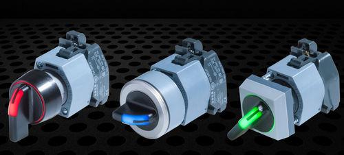 Interruttore con manopola di selezione / multipolare / luminoso / elettromeccanico 04 Series EAO France