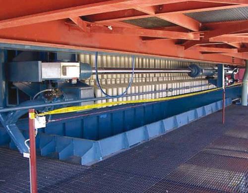 Filtro-pressa a telaio / con ripiano / automatica VPA series Metso Corporation