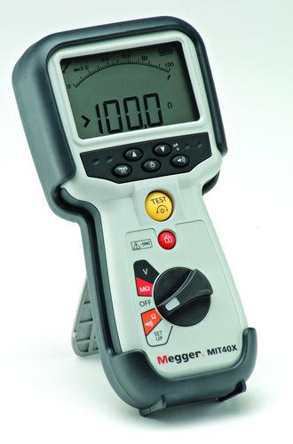 Tester di capacità / di continuità / di isolamento / digitale MIT480 series Megger Limited
