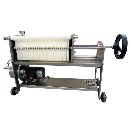 Filtro per vino / a piastre / a cartuccia / filtraggio fine FILTRI JOLLY 30-40 COMPACT Mori-Tem