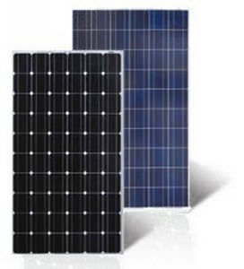 modulo fotovoltaico in silicio monocristallino