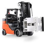 carrello elevatore con motore a combustione / a gas / con conducente seduto / industriale