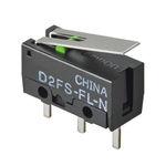 micro-interruttore a leva / unipolare / elettromeccanico