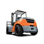 carrello elevatore controbilanciato / a GPL / diesel / con conducente seduto