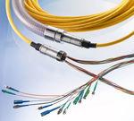 assemblaggio di cavi per trasmissione dati / in fibra ottica / flessibile