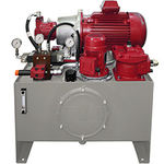 unità idraulica con motore elettrico / secondo specifiche
