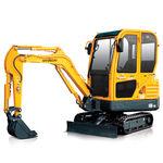 escavatore mini / cingolato / diesel / compatto