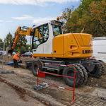 Escavatore intermedio / su ruote / per cantiere / diesel A 912 Compact Litronic  Liebherr Excavators