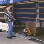 rampa di carico per pontile / mobile / in alluminio
