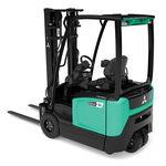 carrello elevatore elettrico / con conducente seduto / per magazzino / per movimentazione