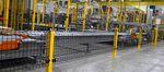 divisorio di protezione macchina / in rete metallica