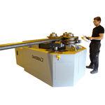 curvatrice a 3 rulli trascinatori / elettroidraulica / per tubi / di profilati