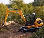 escavatore di medie dimensioni / cingolato / per cantiere / diesel