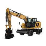 escavatore intermedio / su ruote / per cantiere / diesel