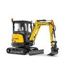 escavatore mini / cingolato / Tier 4 finale / compatto