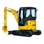 escavatore mini / cingolato / diesel / per cantiere di costruzione