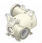 compressore di gas / stazionario / centrifugo / lubrificato