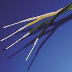 filo unipolare isolato / in PTFE / elastico / cordato a trefoli