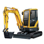 escavatore compatto / mini / cingolato / per cantiere