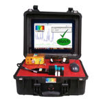 analizzatore per rete elettrica / di spettro / portatile / rinforzato