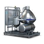 separatore centrifugo / per latte / per l'industria agroalimentare / verticale