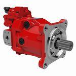 Motore idraulico a pistone assiale / ad alta velocità / a cilindrata variabile M7V series, M7X series Kawasaki Precision Machinery